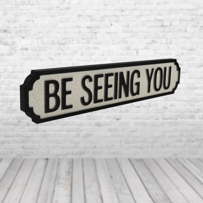 1Wall Be Seeing You Vintage Road Sign / Street Sign | Perfect for your home