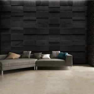 Black Rock Effect Wall Mural 3.15 x 2.32m | 315cm x 232cm
