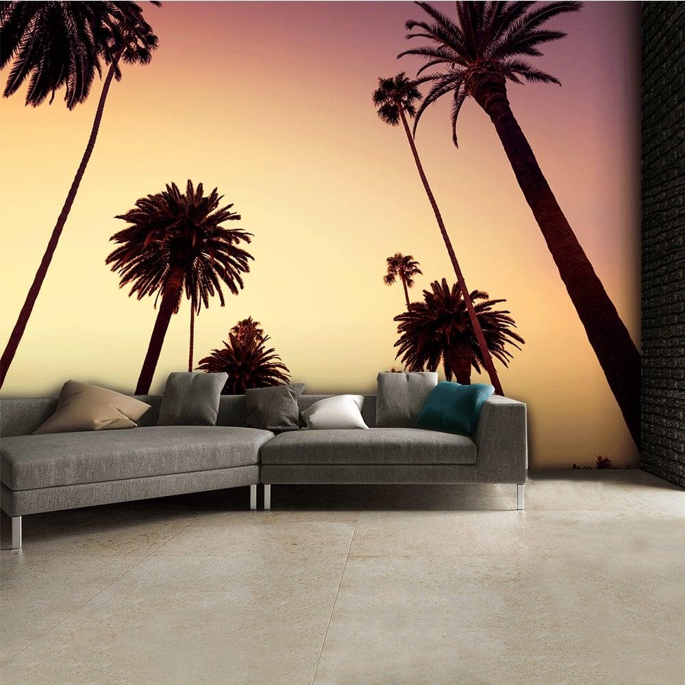 California Palm Trees Wall Mural 315cm x 232cm