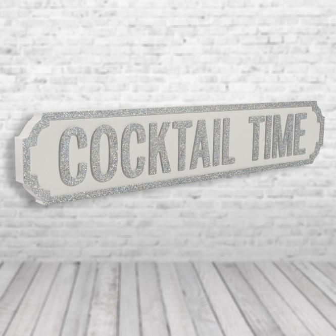 1Wall Cocktail Time Vintage Road Sign / Street Sign | Perfect for your Kitchen