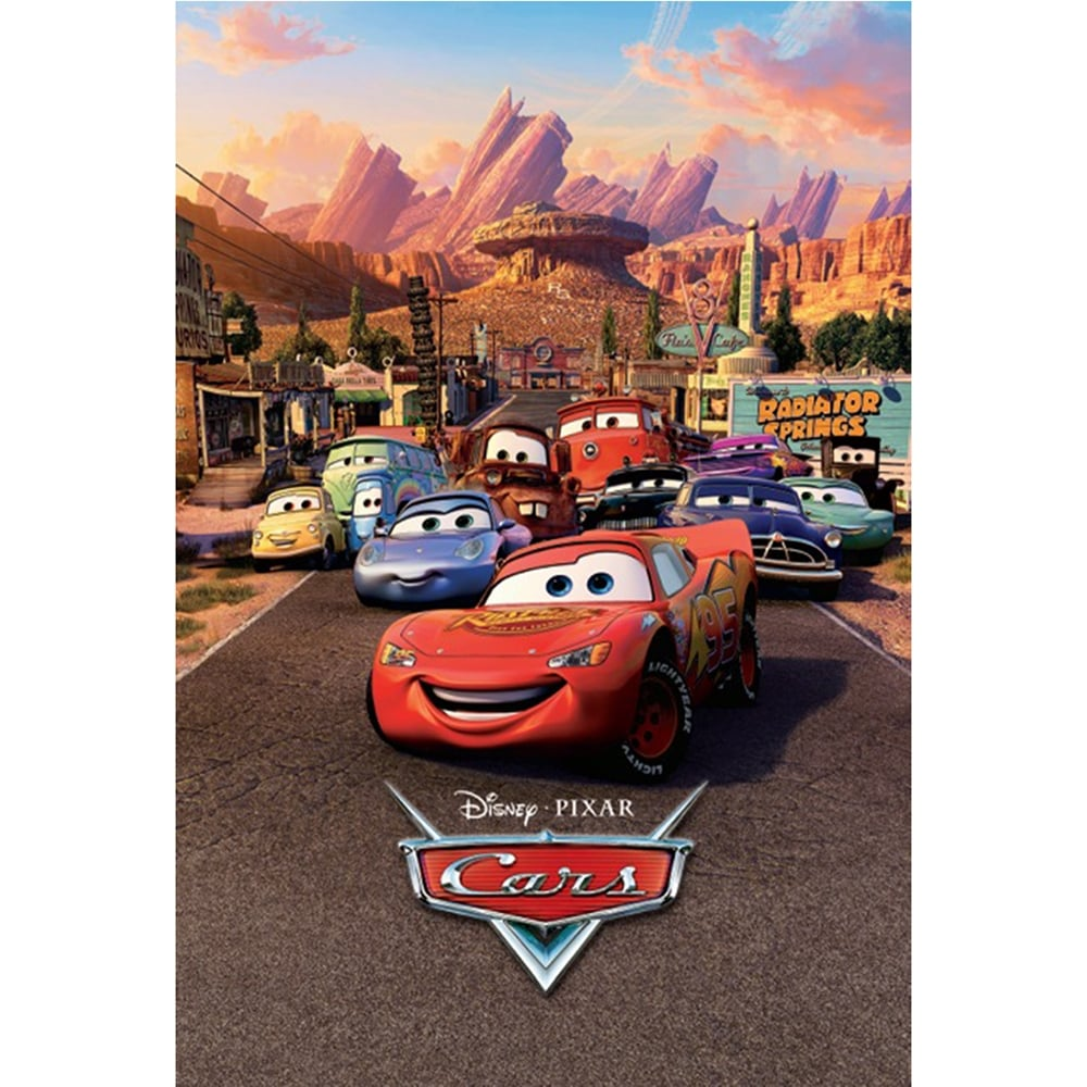 Perfect Disney Cars Lightning Mcqueen Feature Wall Wallpaper Mural | 158cm X 232cm Part 23