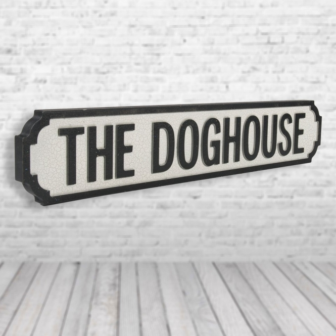 1Wall Dog House Vintage Road Sign / Street Sign | Perfect for your home or man cave