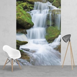 Feature Wall Waterfall Wallpaper Mural | 158cm x 232cm