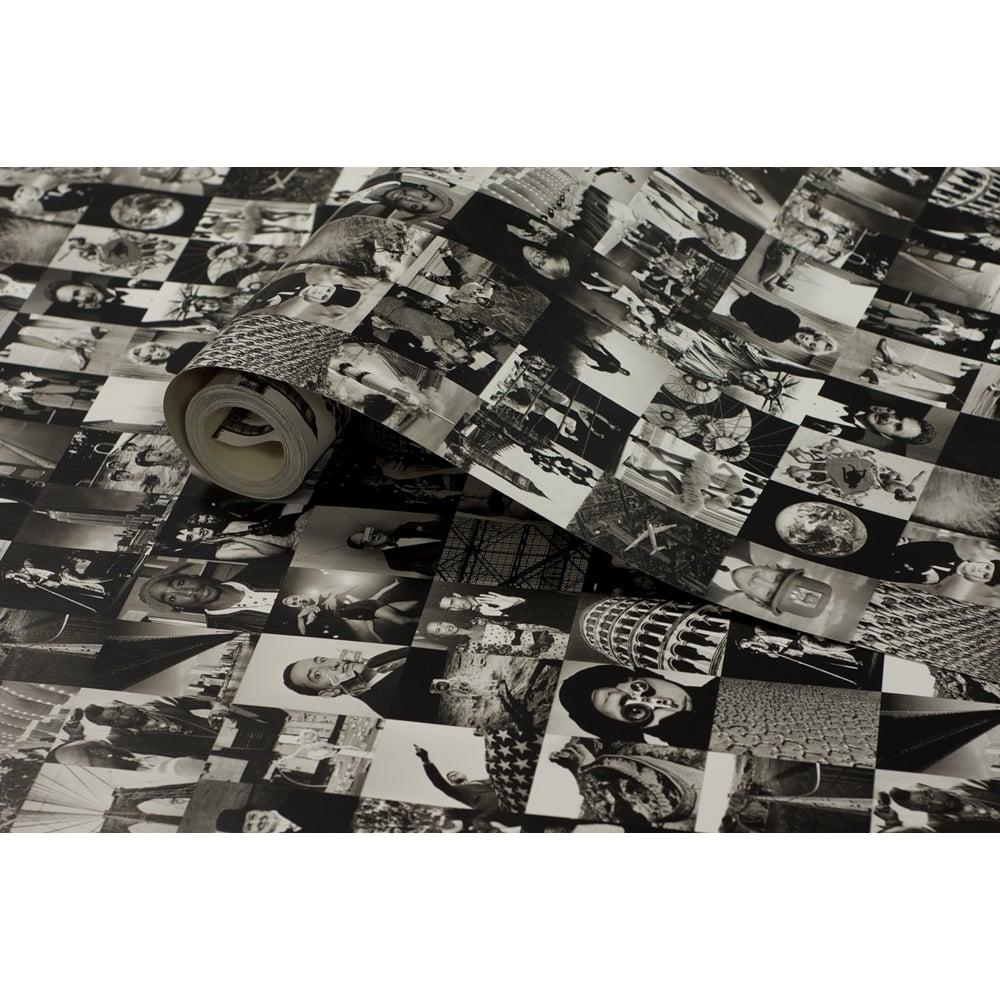 Iconic black and white life magazine images featuring iconic celebrities 53cm x 1005cm