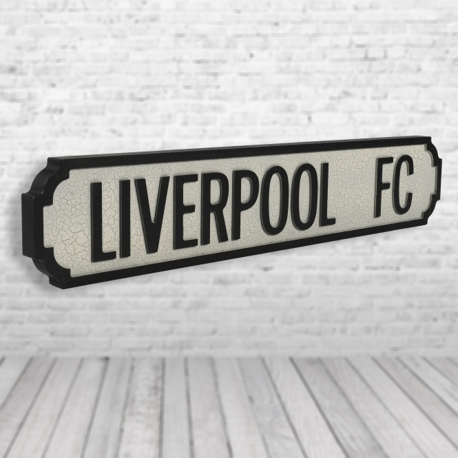 1Wall Liverpool FC Vintage Road Sign / Street Sign | Perfect for Liverpool FC Fans
