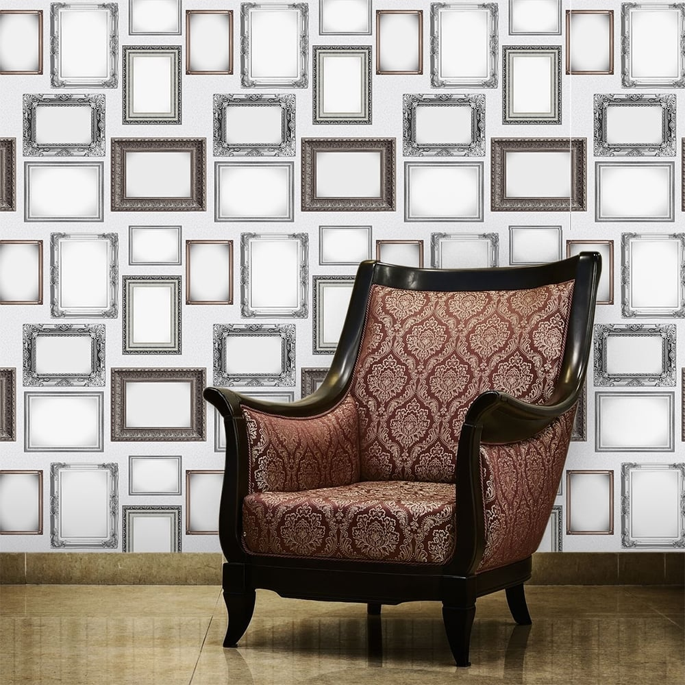 modern picture frames collage. Modern And Traditional Photo Picture Frame Collage Wallpaper 53cm X 1005cm Frames A