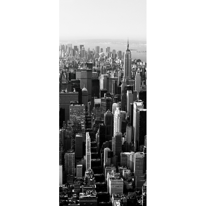1Wall New York Door Mural 0.95 x 2.1m