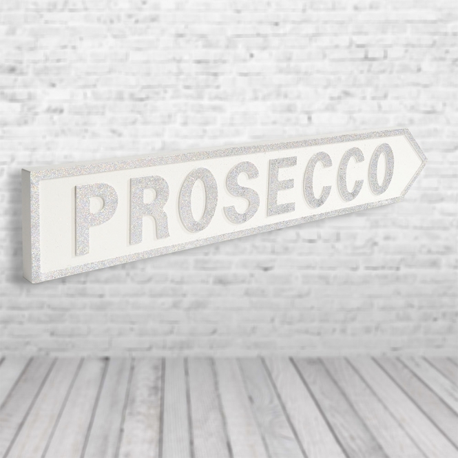 1Wall Prosecco Vintage Road Sign / Street Sign | Whers the Prosecco?