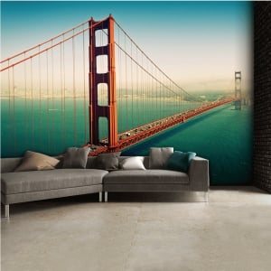 San francisco Bridge Wall Mural | 315cm x 232cm
