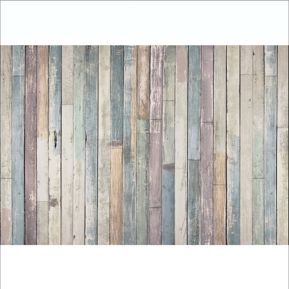 1wall Shabby Chic Pastel Coloured