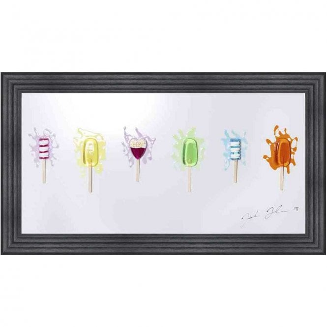 3D LOLLY 2 FRAMED WALL ART