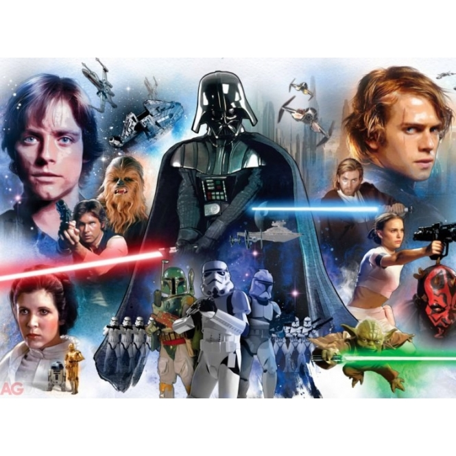 5042 CHILDRENS STARWARS Wallpaper Mural Dimensions: 360 x 253 cm