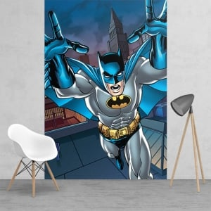 Action Batman Feature Wall Wallpaper Mural | 158cm x 232cm