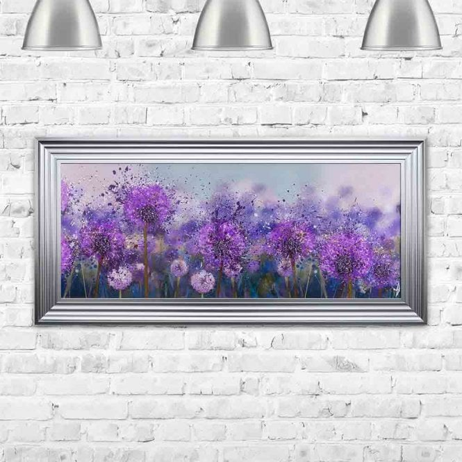 ALLIUM FRAMED WALL ART