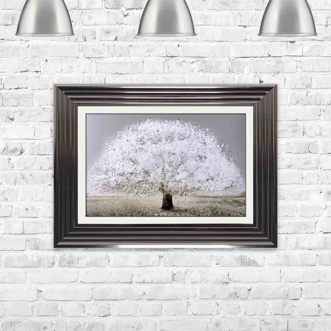 BLOSSOM TREE FRAMED WALL ART