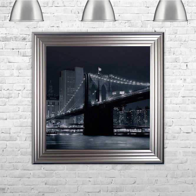 BROOKLYN FRAMED WALL ART