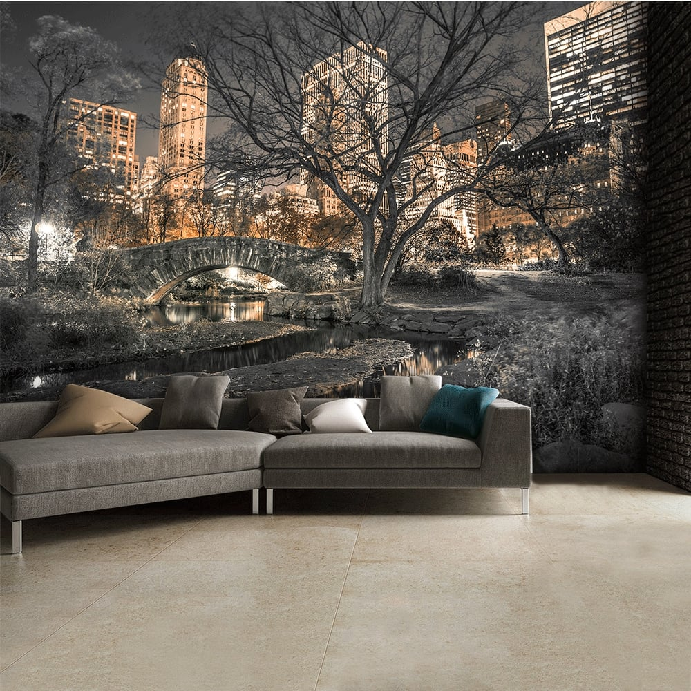 Central Park New York Asaf Frank Wall Mural | 315cm X 232cm Part 57