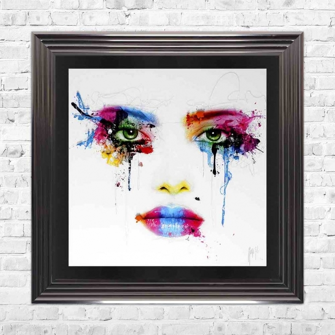COLORS FRAMED WALL ART