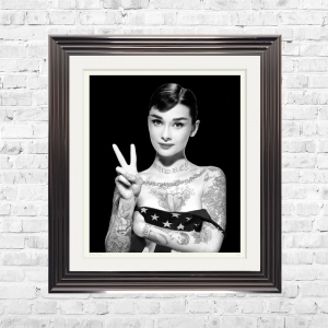 AUDREY BLACK Limited Edition Framed Artwork