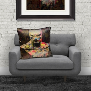 Dirty Hans Batman Luxury Feather Filled Cushion | 55cm x 55cm