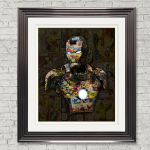 Dirty Hans Ironman Limited Edition Framed Artwork | 90cmx100cm | Limited Edition with Certificate