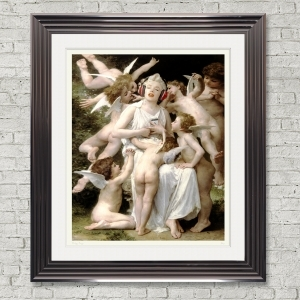 Dirty Hans Marilyn Cherub Limited Edition Framed Artwork | 90cmx100cm | Limited Edition with Certificate