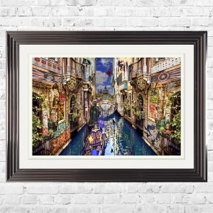 POP GOES VENICE Limited Edition Framed Artwork