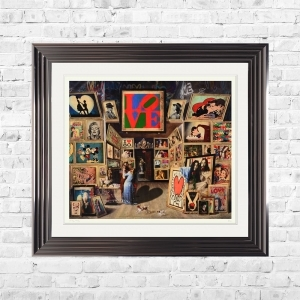 THE LOVE GALLERY Limited Edition Framed Artwork