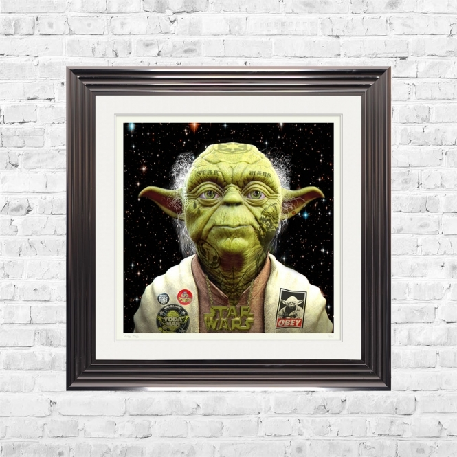 Dirty Hans YODA Limited Edition Framed Artwork