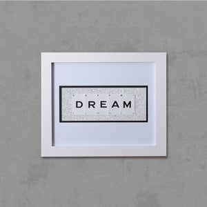 DREAM Framed Playing Cards