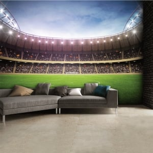 Football Stadium Featured Wallpaper Mural | 315cm x 232cm