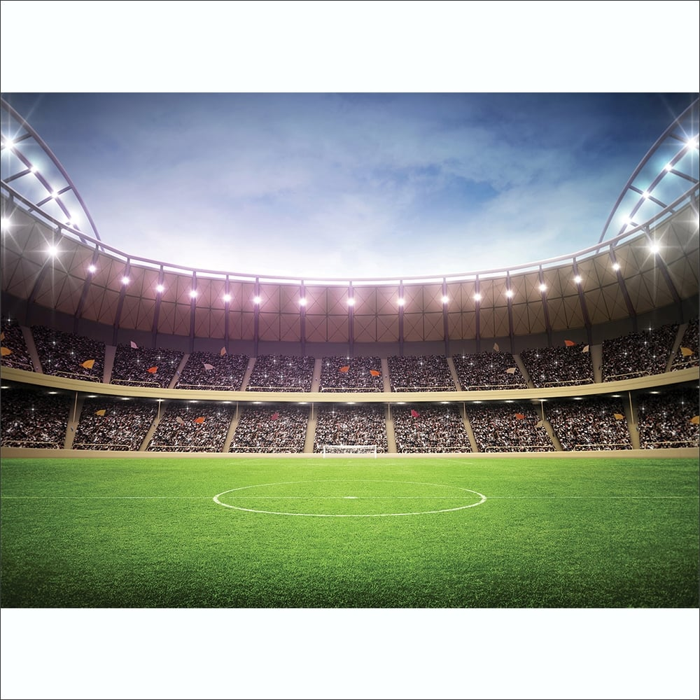 Football Stadium Featured Wallpaper Mural  315cm x 232cm