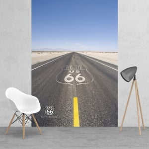 Iconic Route 66 US Feature Wall Wallpaper Mural | 158cm x 232cm