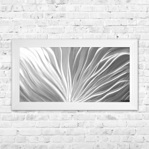 Flame Aluminium Panel Framed Artwork