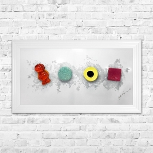 Sweets Framed 3D Liquid Artwork