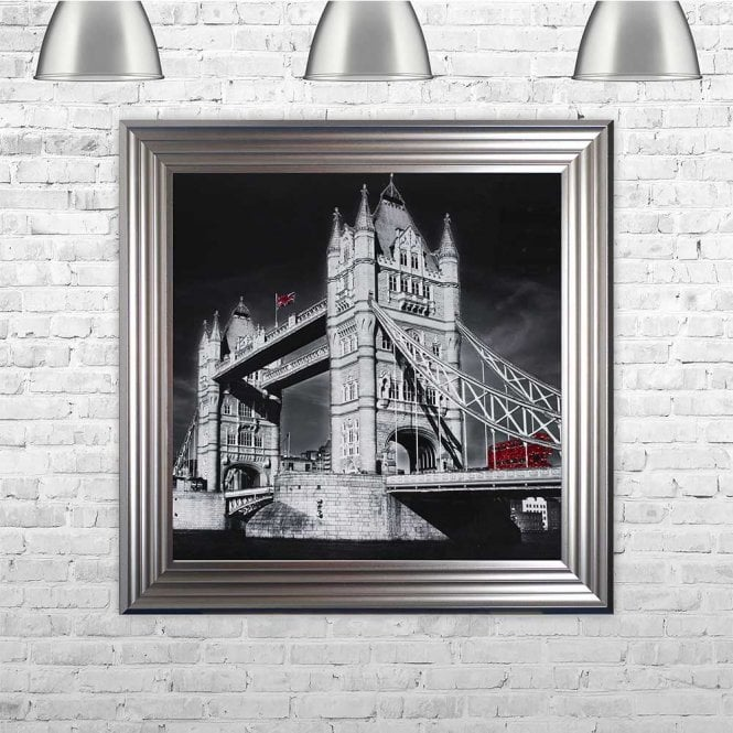 LONDON BUS FRAMED WALL ART