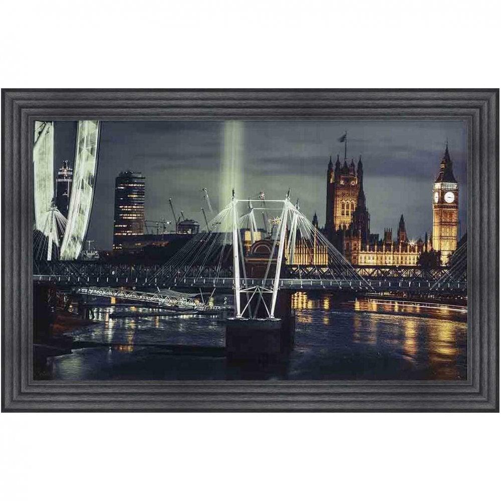 London Skyline Framed Wall Art