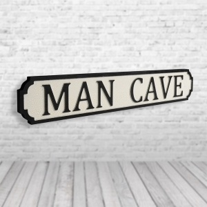 Mancave Vintage Road Sign / Street Sign | Perfect For the Man Cave