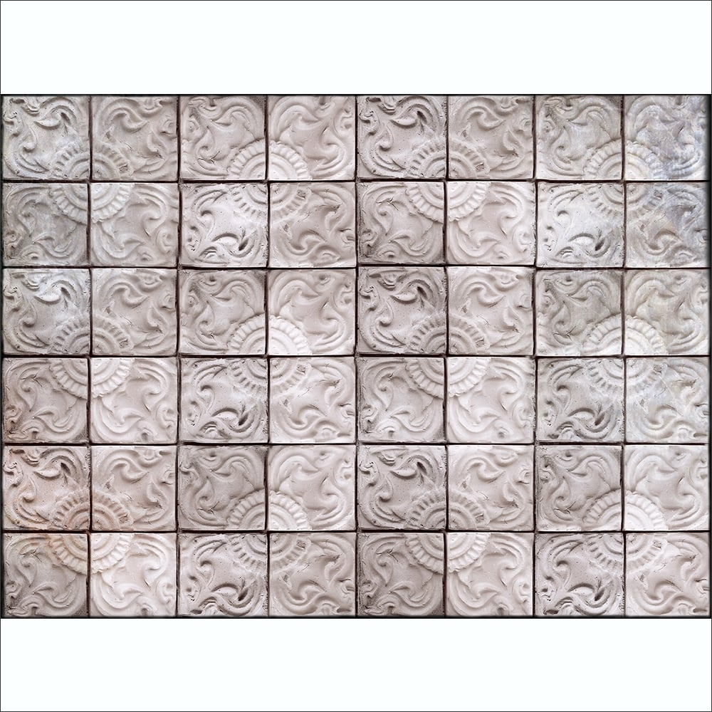 patterned textured tin tile effect wall mural 315cm x 232cm neutral patterned textured tin tile effect wall mural 315cm x 232cm