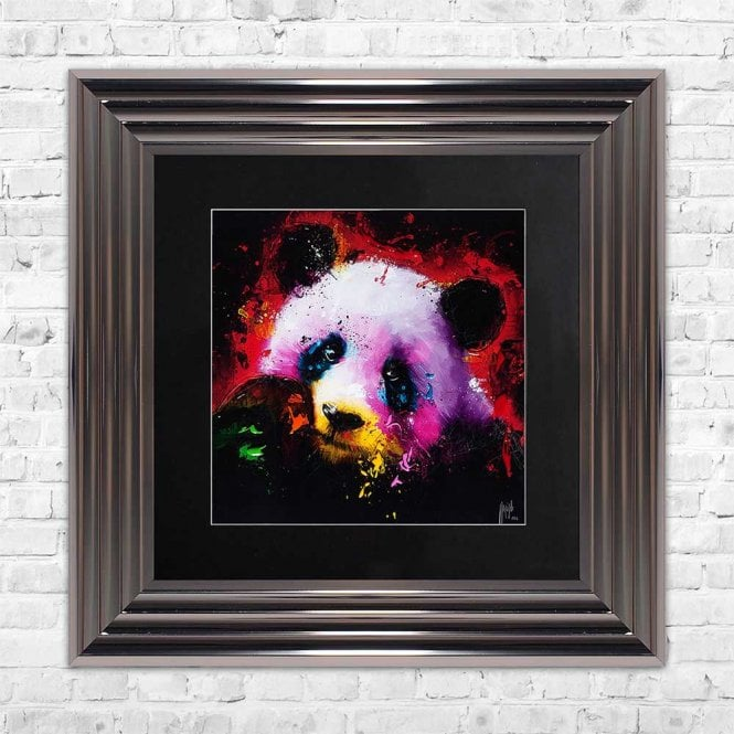 PANDA FRAMED WALL ART