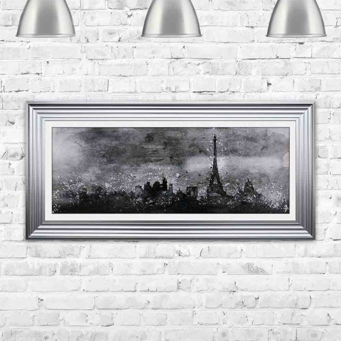PARIS ABSTRACT SKETCH FRAMED WALL ART