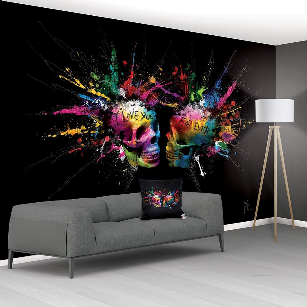 patrice murciano eternal lovers xxl non woven mural. Black Bedroom Furniture Sets. Home Design Ideas
