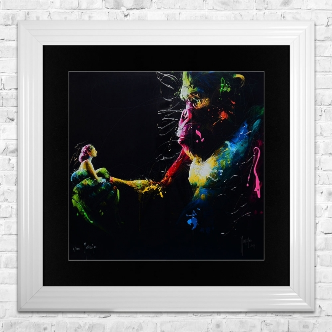 Patrice Murciano KONG Limited Edition Framed Liquid Artwork Signed with Limited Edition Number