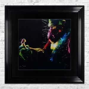 KONG Limited Edition Framed Liquid Artwork Signed with Limited Edition Number