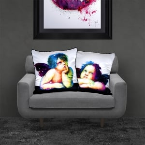 Patrice Murciano Licensed 55cm Luxury Feather Filled Cushion - Cherub 1
