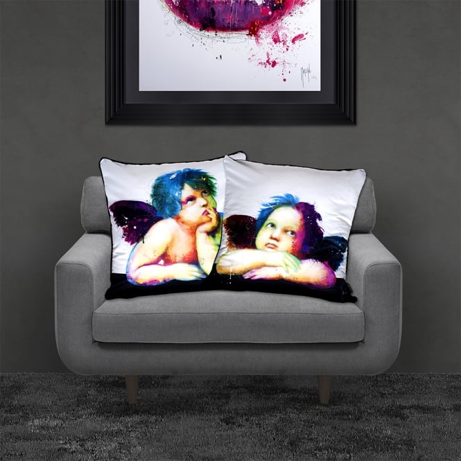 Patrice Murciano Licensed 55cm Luxury Feather Filled Cushion - Cherub 2