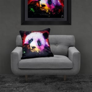Patrice Murciano Licensed 55cm Luxury Feather Filled Cushion - PANDA