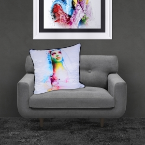Patrice Murciano Maria Luxury Feather Filled Cushion | 55cmx 55cm