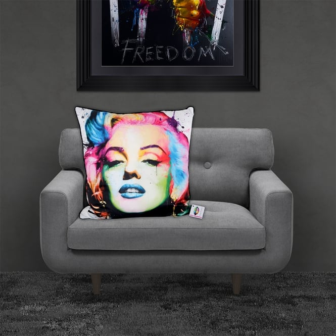 Patrice Murciano Marilyn Monroe Luxury Feather Filled Cushion | 55cmx 55cm