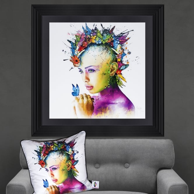 Patrice Murciano Power Of Love Framed Artwork 90cm x 90cm